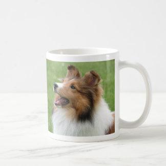 Shetland Sheepdog on mug