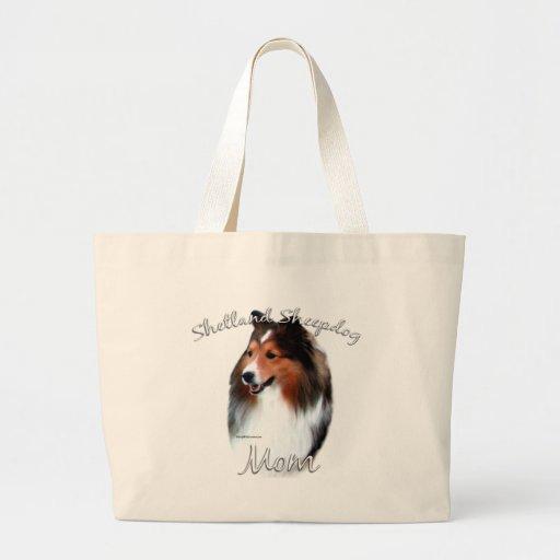 Shetland Sheepdog (sable) Mom 2 Jumbo Tote Bag