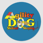 Shetland Sheepdog Sheltie Agility Stickers