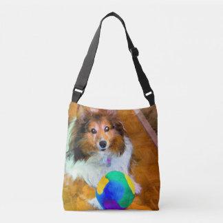 Shetland Sheepdog (Sheltie) allover bag and tote Tote Bag