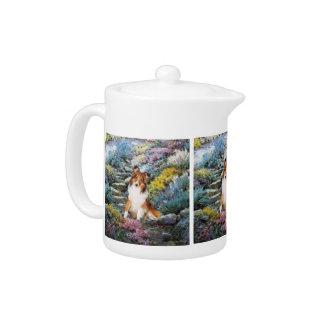 Shetland Sheepdog Sheltie Art Gifts Teapot