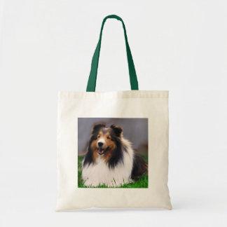 Shetland Sheepdog Sheltie Art Gifts Tote Bag