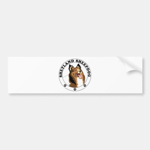 Shetland Sheepdog - Sheltie Bumper Sticker