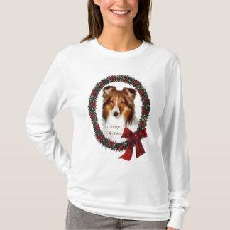 Shetland Sheepdog Sheltie Christmas Gifts T-Shirt