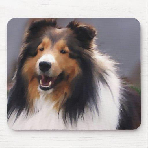 Shetland Sheepdog Sheltie Gifts Mouse Pad