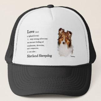Shetland Sheepdog Sheltie Gifts Trucker Hat