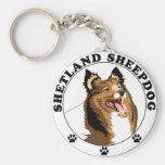 Shetland Sheepdog - Sheltie Key Chain