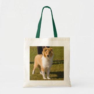 Shetland Sheepdog - Sheltie puppy tote bag