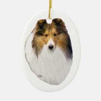 Shetland Sheepdog (Sheltie) sable ornament