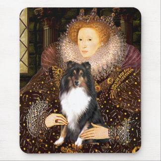 Shetland Sheepdog (Tri11) - Queen Mouse Pad