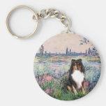 Shetland Sheepdog (Tri) - By the Seine Key Chains