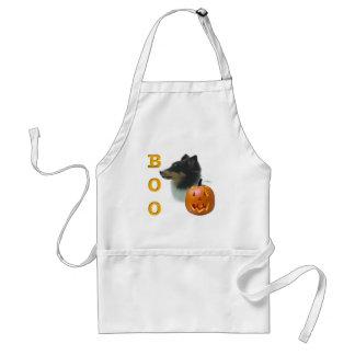 Shetland Sheepdog (tri color) Boo Adult Apron