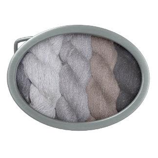 Shetland Yarn colors BELT BUCKLE