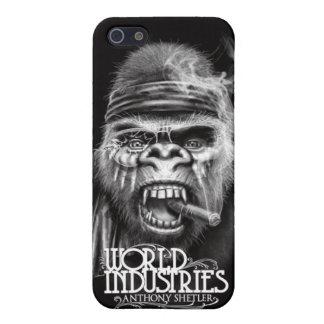 Shetler Battle Gorilla iPhone4 Case