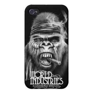 Shetler Battle Gorilla iPhone4 Case iPhone 4 Cover