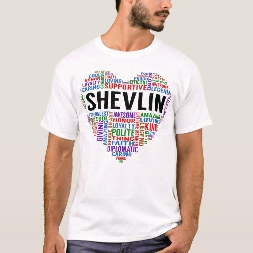 SHEVLIN Legend Heart T_Shirt