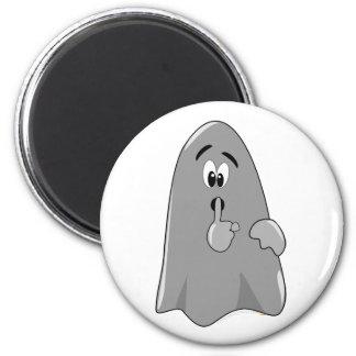Shh Cartoon Ghost Cute Secret  Halloween Magnets