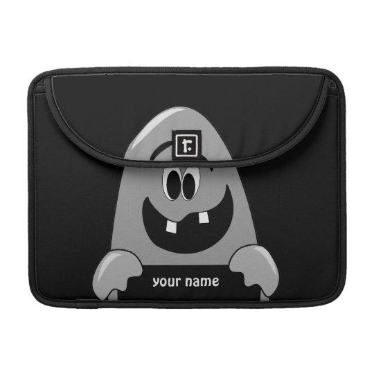 Shh Cute Cartoon Ghost Halloween Macbook Pro Air Sleeve For MacBooks