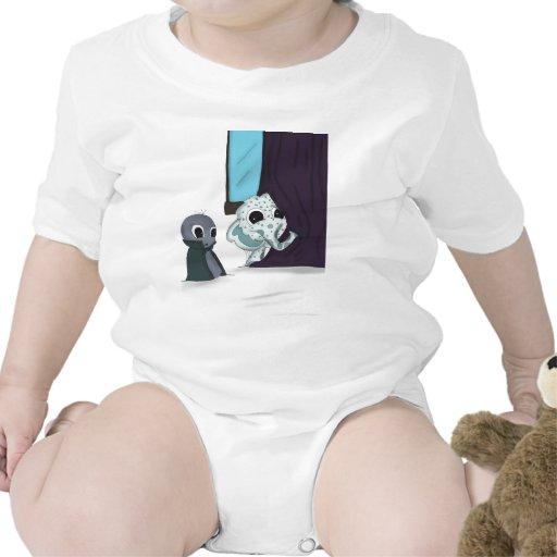shh estoy ocultando arte digital del monstruo traje de bebé