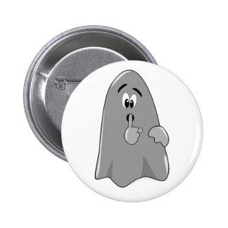 Shh fantasma Halloween secreto lindo del dibujo an Pins