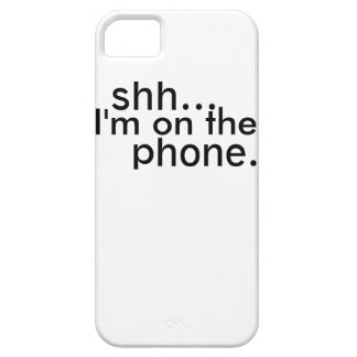 Shh! iPhone 5 Cases