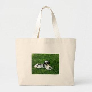 Shh itzu canvas bags