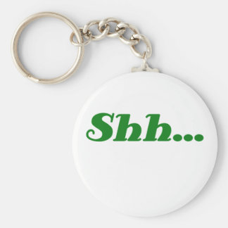 Shh... Keychain