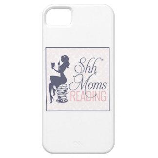 Shh mamáes que leen la caja del iPhone iPhone 5 Funda