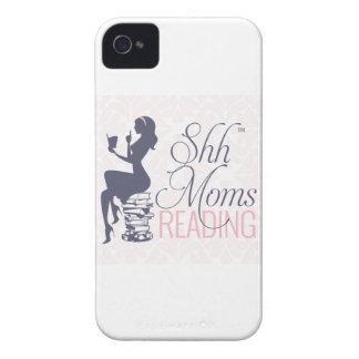 Shh Moms Reading Case-Mate iPhone 4 Case