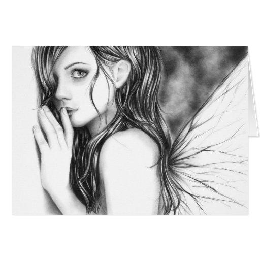 Shh Now Fairy Card