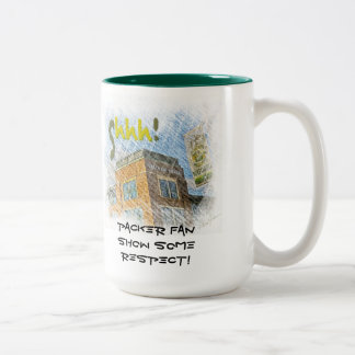 Shh! Packer Fan Mug by Alma Lee