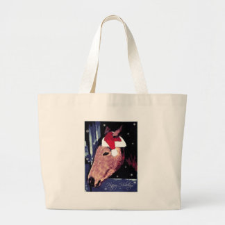 SHH! Snowy Holiday Horse Bags