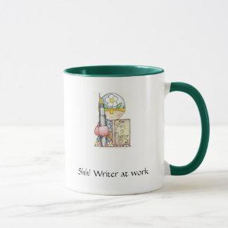 Shh! Writer at Work mug