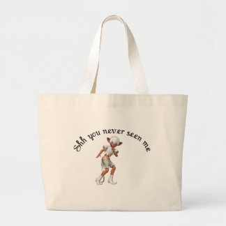 shh you never seen me tote bags