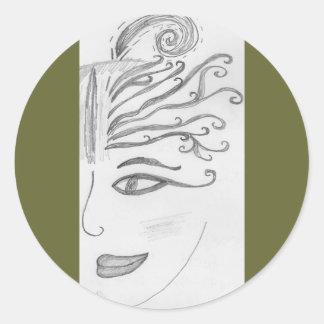 shhaa-woman stickers