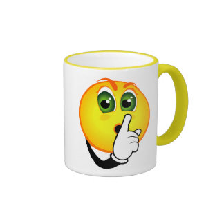 Shhh!, Don't speak Coffee Mug