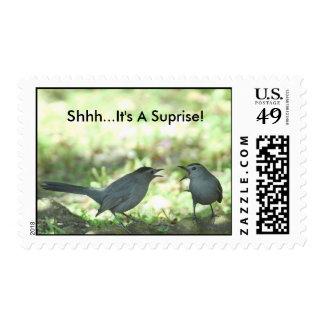 Shhh...It's A Suprise! Postage