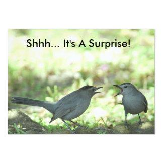 Shhh... It's A Surprise! Invitation