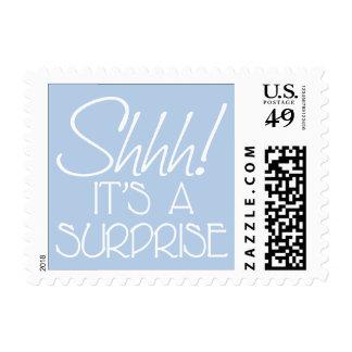Shhh! It's a surprise. Postage