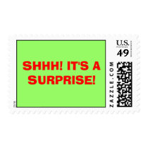 SHHH! IT'S A SURPRISE! POSTAGE
