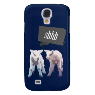 """Shhh Samsung Galaxy S4 Cover"
