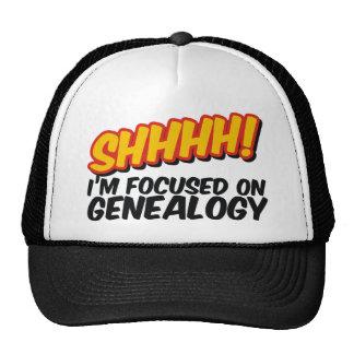 ¡Shhhh! Centrado en la genealogía Gorros