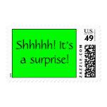 Shhhhh! It's a surprise! Stamp