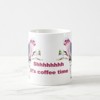 Shhhhh It's Coffee Time Mugs