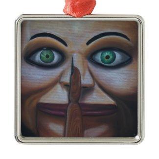 Shhhhh ornament