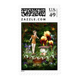 Shhhhh Postage Stamp