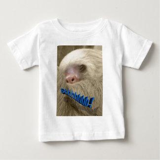 shhhhhh sleepy sloth baby T-Shirt