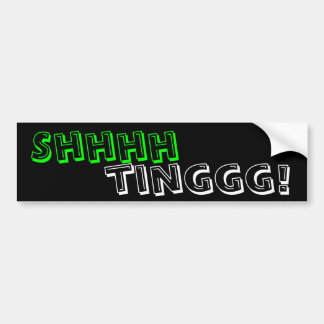 ¡Shhhhtinggg! Pegatina Para Auto