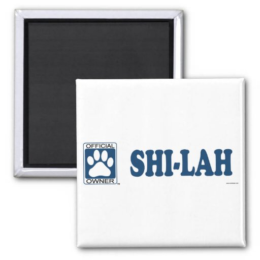 SHI-LAH_Blue Refrigerator Magnet