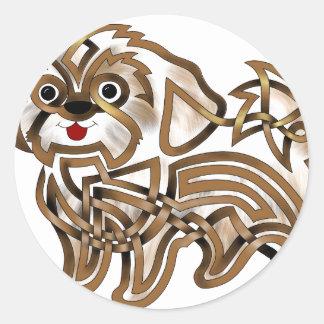 Shi-tzu Classic Round Sticker